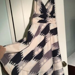 Marc by Marc Jacobs Ikat Fit and Flare Dress sz 8